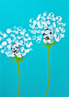 Dandelion Fingerprint Craft