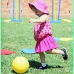 Girl kicking ball - OT news